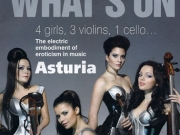Electric String Quartet  Asturia