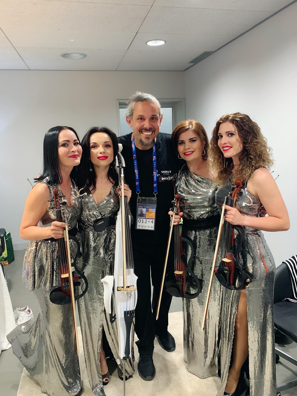 Asturia Quartet with best assistant - Guido!