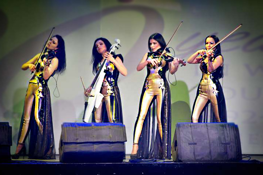 Coral Travel, String quartet Asturia, Asturia Band, Astoria Band, Astoria girls